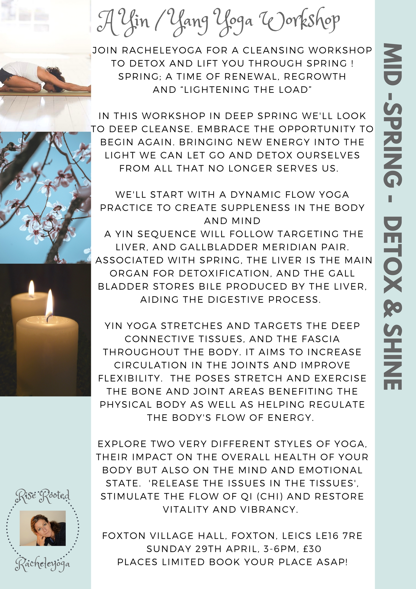 A Yin / Yang Deep Cleanse Yoga Workshop for Deep Spring